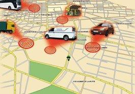 localisation géographique de véhicule