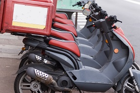 Floote de scooters